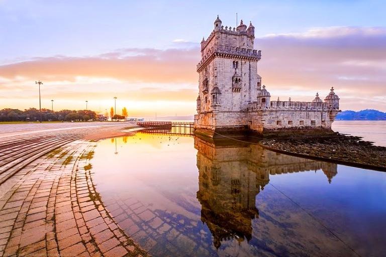 Sunrise-Torre-Belem-Lisbon-Portugal-2-2